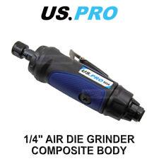 """US PRO Tools 1/4"""" Air Die Grinder Composite Body, Grinding Tool 8424"""