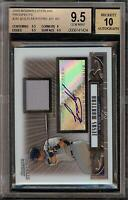 2008 Bowman Sterling Jesus Montero Rookie RC Jersey BGS 9.5 Autograph 10 Auto 13
