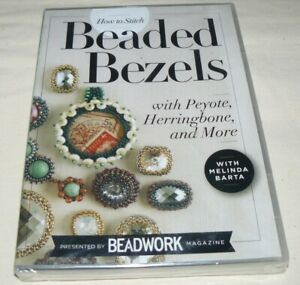 Beadwork DVD Beaded Bezels with Peyote Herringbone and More Jewelry Making NEW