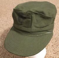 Olive ~ United States US Marines USMC Military Adult Sz S Baseball Cadet Cap Hat
