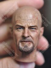 """custom 1/6 Scale breaking bad heisenberg battle damaged Head Sculpt fit 12"""" body"""