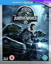 Jurassic World : 2015 Colin Trevorrow, Chris Pratt Brand New Sealed Blu-ray 3D