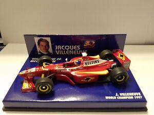 Minichamps Williams FW 20 Jacques Villeneuve Mecachrome F1 1:43