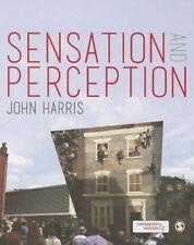 Sensation and Perception, Good Condition Book, Harris, John, ISBN 9780857020642