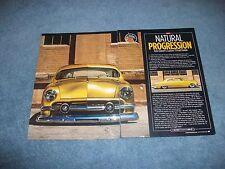 "1951 Ford 2-Door Sedan Custom Sled Article ""Natural Progression"""