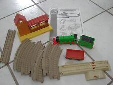 Thomas The Train Set Percy's Day at the Farm Trackmaster , w/ percy +coal car