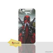 Deadpool Case/cover Apple iPhone 5 5s SE Screen Protector / Silicone GEL Sniff