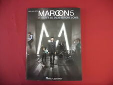 Maroon 5 - It won´t be soon... . Songbook Notenbuch Piano Vocal Guitar PVG