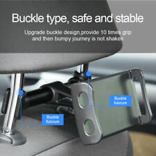 New Back Headrest Car Rear Mount Bracket for Cell Phone Tablet iPad Knidle eBook