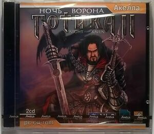 Gothic 2 Night Of The Raven (Gothic II) NEW Factory Sealed PC Game (PC, 2003)