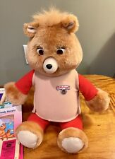 1992 Teddy Ruxpin Talking Bear 6 Small Tapes & 6 Books Included Works Great