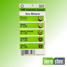 UGELLI GAS METANO 6MB ARISTON ZANUSSI 5PZ