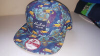 A24 NEW ERA Officail 9fifty TROPICAL TOUCAN Snapback Baseball Cap * M/L