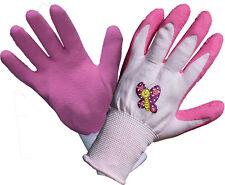 10 Paar Kinder Arbeitshandschuhe Gartenhandschuhe Arbeits Garten Handschuhe pink
