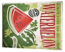 Tin Sign XXL Kitchen  Watermelon