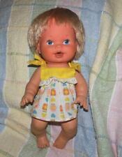 Vintage 1978 GMFGI KENNER Baby Wet & Care Doll Diaper Rash
