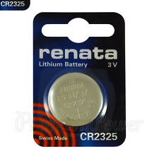 1 x Renata CR2325 battery Lithium 3V BR2325 CR 2325 Coin cell Watch EXP:2023