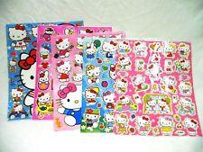 Hello Kitty 5 X A4 hojas de brillante hoja de pegatinas (408) Bolsas De Fiesta Media