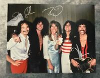 GFA x3 Neal Schon Rock Band * JOURNEY * Signed 11x14 Photo PROOF J4 COA