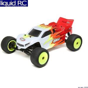 Losi 01015T1 Mini-T 2.0 RTR Red/White: 1/18 2WD