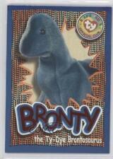 1999 Ty Beanie Babies Series 4 258 Wild Cards Bronty the Ty-Dye Brontosaurus 2d6