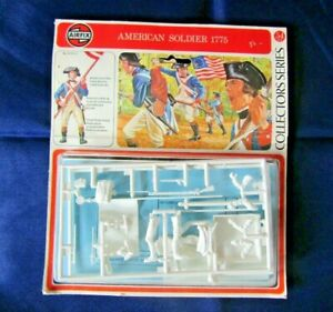 Airfix 54mm American Soldier 1775 Sealed Model Kit