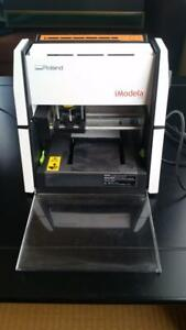 Roland imodela Sculpture 3D Plotter IM-01 Super Small Tested w/ Accessories