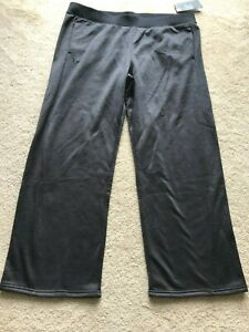 NWT NEW Under Armour COLDGEAR sweat pants XXL charcoal gray pockets LOOSE FIT