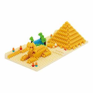 New NANOBLOCK Great Pyramid of Giza Nano Block Micro-Sized Blocks NBH_033