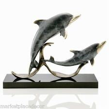 SPI Home Sailor's Delight Double Dolphins Statue