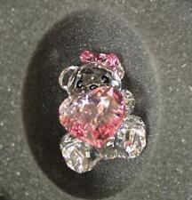 Swarovski Crystal Only For You Kris Bear Figurine 1096732
