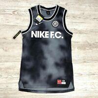 NIKE F.C. DRI-FIT TANK TOP FOOTBALL VEST Size S SMALL AQ1545 010