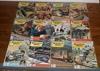1976 complete year/SET Railroad Model Craftsman Magazine TRAIN Lot Of 12 HOBBY