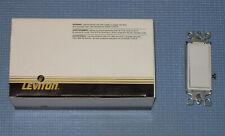 NEW LEVITON DECORA 3-WAY WHITE WALL SWITCH 10-PACK 5603-2W 15 Amp 120/277V AC