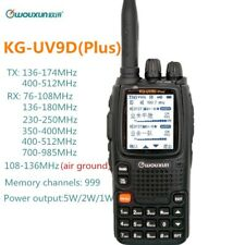 Wouxun KG-UV9D Plus Walkie Talkie Air Band 108-136MHz Police Band 350-390MHz