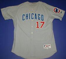 2011 Matt Garza Chicago Cubs Game Worn Used #17 Road Jersey Stiener MLB Team LOA