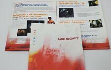 Ubisoft E3 2003 Rare Press Brochure Kit Far Cry Rainbow Six Prince of Persia