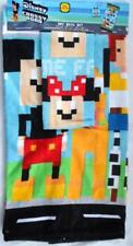 Disney Cross Road Towel Washcloth 2pc Bath Set Cotton Mickey Minnie Buzz Woody