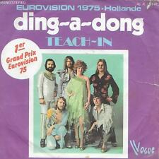 """Teach-In – Ding-A-Dong - Vogue – Vinyl, 7"""", 45 RPM, Single - Eurovision1975"""