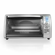 BLACK+DECKER CTO6335S Countertop Convection Toaster Oven, 22.8x13.4 - Inches,
