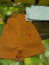 Incantevole Vestito tuta pantaloni corti 18 mois + Bodys