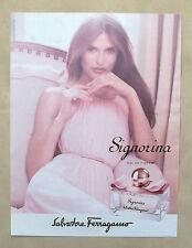 E070 - Advertising Pubblicità - 2013 - SALVATORE FERRAGAMO SIGNORINA