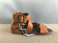 BNWT ladies Older Girls Sz 10 Smart Tan Rivers Doghouse Strappy Buckle Sandals