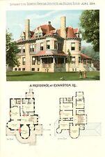Evanston, Ill.  -   Scientific American Architects and Builders Edition - 1894