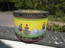 grande Boite à CHAPEAU Vintage Hat big Box Hutmacher Circa. 1935 P&C HABIG WIEN