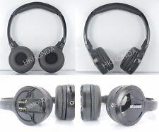 Pair Infrared Stereo Wireless Headphones 2PCS Kids Headset IR for Car DVD Player