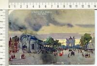 """s681) CP Orig. Esposizione Milano 1906 - Viaggiata- """"Stazione al Parco"""" Palanti"""
