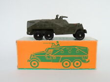 Vintage USSR Soviet Army Military WW2 Cast Metal Armored Carrier Tank Tin Toy