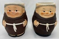 2 Goebel Friar Tuck Tankard Mugs T74 / I West Germany w/Bee 1 w/Feet 1 w/Shoes