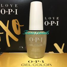 OPI GelColor HP J12 GIFT OF GOLD NEVER GETS OLD ~Love XOXO gold gel color polish